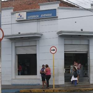 Lotérica de Santa Rita do Passa Quatro (SP) onde um ganhador levou a Mega da Virada de 2009