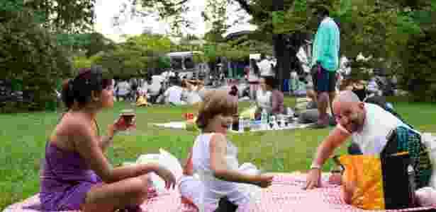 piquenique Parque Ibirapuera - Dario Oliveira/Futura Press/Estadão Conteúdo - Dario Oliveira/Futura Press/Estadão Conteúdo
