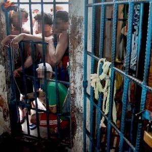Penitenciária de Pedrinhas, no Maranhão