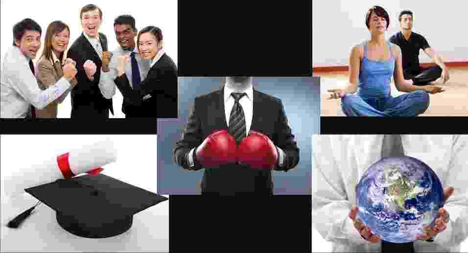Montagem de empreendedorismo para matéria sobre dicas para contruir uma empresa sólida - Arte/UOL