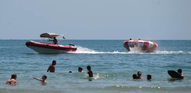 Caso ocorreu na praia da Enseada, no Guarujá