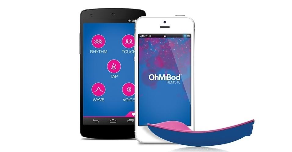 A companhia americana OhMiBod apresentou durante a CES 2014 o blueMotion Massager, que é um vibrador feminino íntimo controlado por um smartphone. O dispositivo, que funciona com tecnologia Bluetooth, é controlado por um aplicativo (disponível para iOS e Android) de smartphone. De acordo com a companhia, o vibrador pode ser configurado para entrar em ação baseado numa gravação de voz ou conforme a batida de uma música. Nos Estados Unidos, o aparelho está disponível por US$ 129 (cerca de R$ 308); o aplicativo controlador do gadget é gratuito