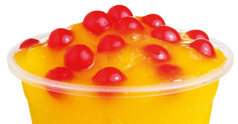 Franquia Is Bubble Tea, nascida em Belo Horizonte (MG), vende chás com bolinhas de suco de frutas que estouram na boca