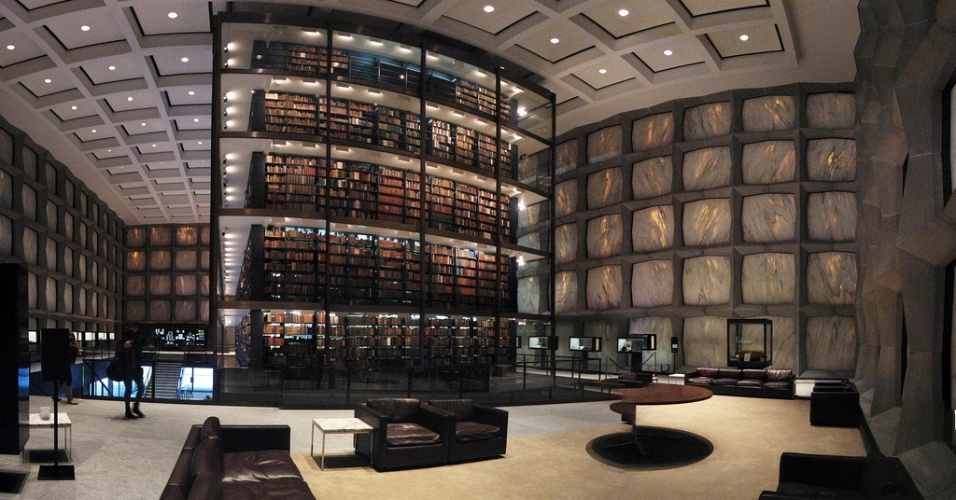 Beinecke Rare Book & Manuscript Library da Universidade Yale (EUA)