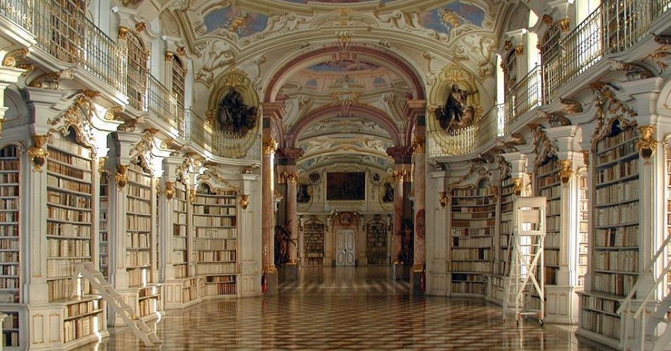 Biblioteca Admont Abbey (Áustria)