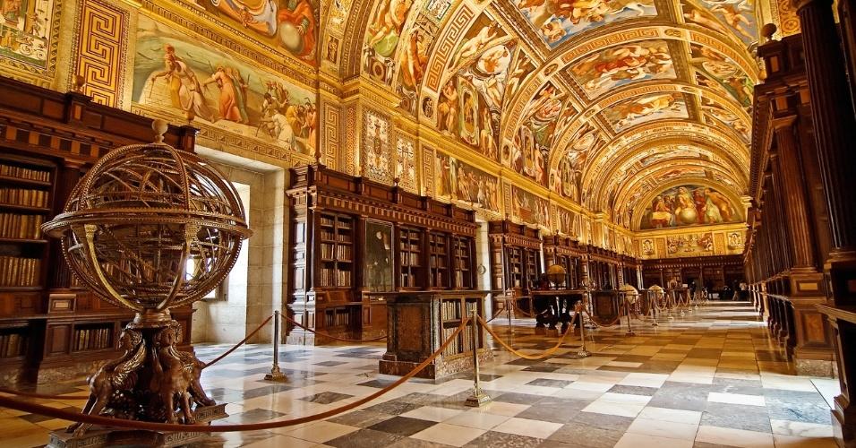 Biblioteca do Real Monastério de San Lorenzo de El Escorial (Espanha)