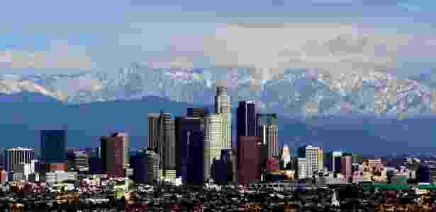 26.jan.2008 - Cidade de Los Angeles, com centro comercial em destaque - Todd Jones Photography/Flickr