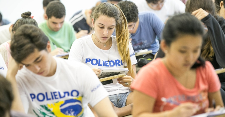 12.jan.2014 - Neste domingo, começou a segunda fase do vestibular 2014 da Unicamp (Universidade Estadual de Campinas)