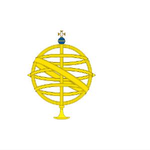 Bandeira portuguesa da navegação para o Brasil, Bandeira do Principado do Brasil - Reprodução/EBC