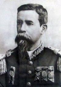 Fotografia do General Carneiro no Museu da Revolução Federalista