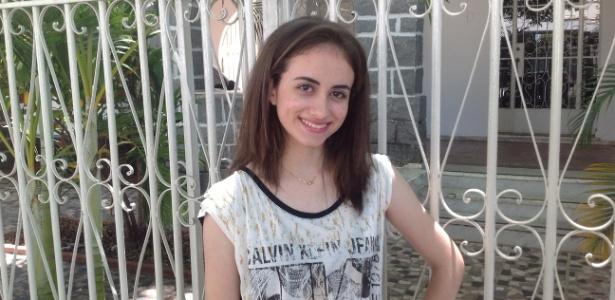 Mariana Drummond Martins Lima, 18 anos, ficou em primeiro lugar geral na UFMG e na UFES  - Carlos Eduardo Cherem/UOL