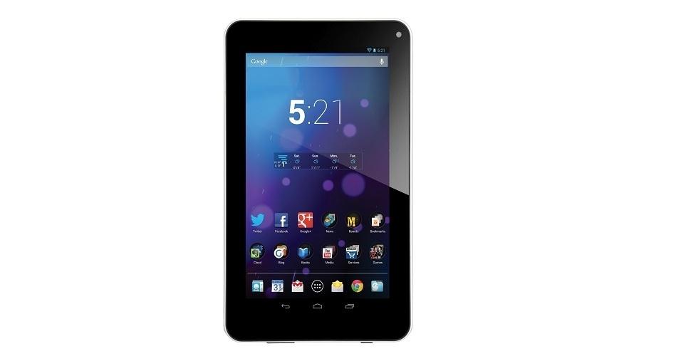 Tablet da NewLink agrada pelo preço, mas peca na velocidade e bateria
