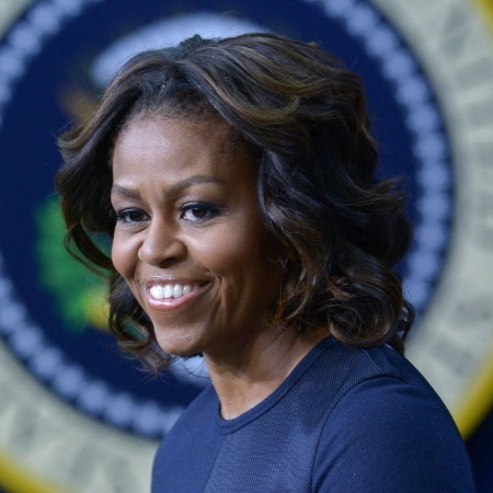 A ex-primeira-dama americana Michelle Obama - Mandel Ngan