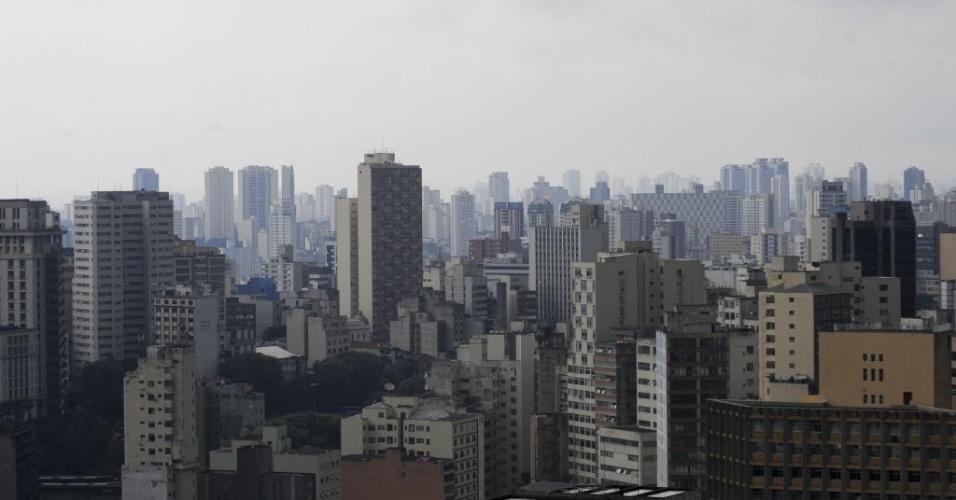 Verticalização no centro de São Paulo