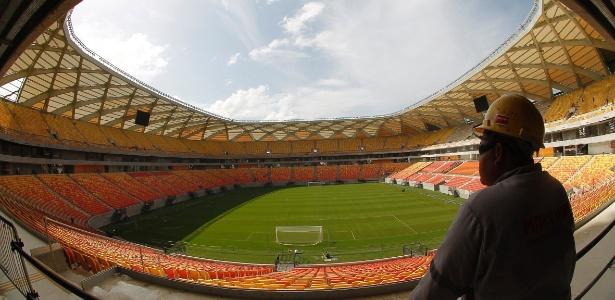 Novo estádio de Manaus passa por seu primeiro evento-teste antes da Copa do Mundo