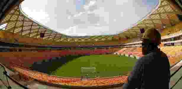 Flamengo deverá fazer mais um jogo pelo Brasileiro na Arena Amazônia - Bruno Kelly/Reuters