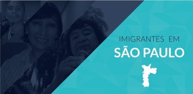 Conheça os redutos e os dramas dos imigrantes que vivem na cidade de São Paulo - Arte/UOL
