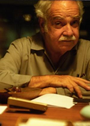 O cientista Paulo Emílio Vanzolini, que era especilista em cobras e lagartos, em 2010. Ele também era compositor, poeta, zoólogo e diretor do Museu de Zoologia da Universidade de São Paulo