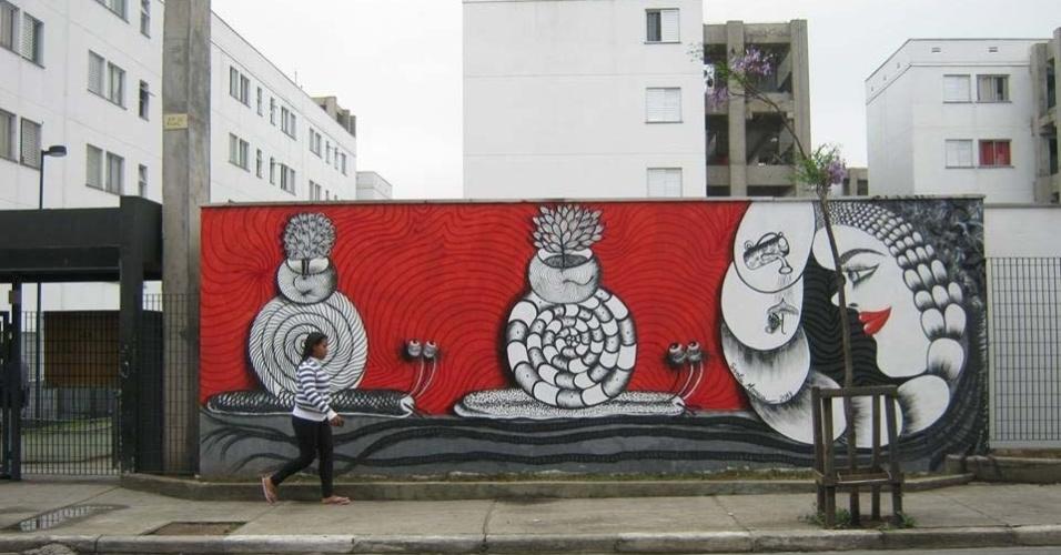24.jan.2014 - Artistas fazem homenagem ao 460º aniversário da cidade de São Paulo