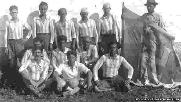 Ex-escravos que viviam em fazenda nazista no interior de SP - Cortesia Senhorinha Barreto da Silva