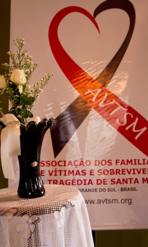 Homenagem às vítimas da Boate Kiss, que deixou 242 mortos e 620 feridos. A tragédia completa um ano no dia 27 de janeiro de 2014