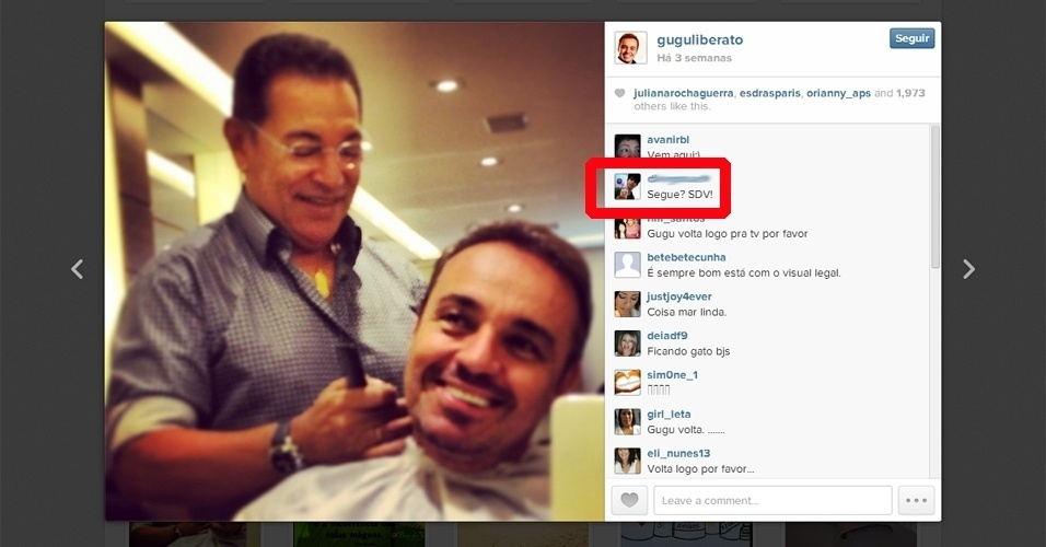 ''Caçadores'' de curtidas e seguidores no Instagram perseguem celebridades
