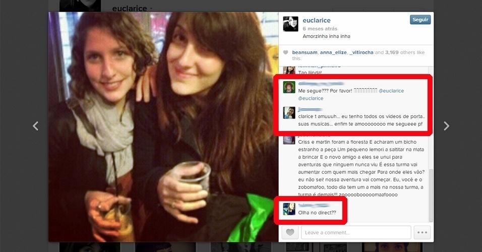 ''Caçadores'' de curtidas e seguidores no Instagram perseguem celebridades''Caçadores'' de curtidas e seguidores no Instagram perseguem celebridades