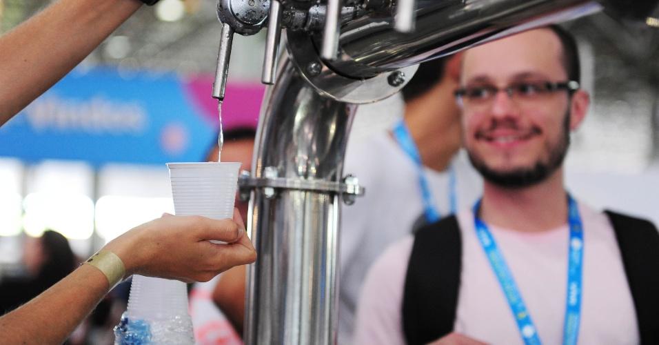 Na sua sétima edição, a Campus Party Brasil vai até o dia 2 de fevereiro no Anhembi Parque, em São Paulo. O evento reúne fãs de tecnologia que aproveitam uma conexão de 40 Gbps (Gigabits por segundo) e teve os 8.000 ingressos esgotados