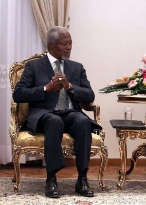 O ex-secretário-geral das Nações Unidas Kofi Annan, em foto de arquivo