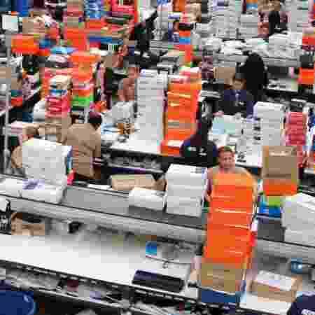 Centro de distribuição da Netshoes em Barueri (SP) - Divulgação
