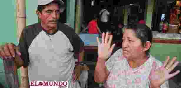 Os pais de José Alvarenga ainda vivem em El Salvador e estão ansiosos em rever o filho - Reprodução/Diário El Mundo