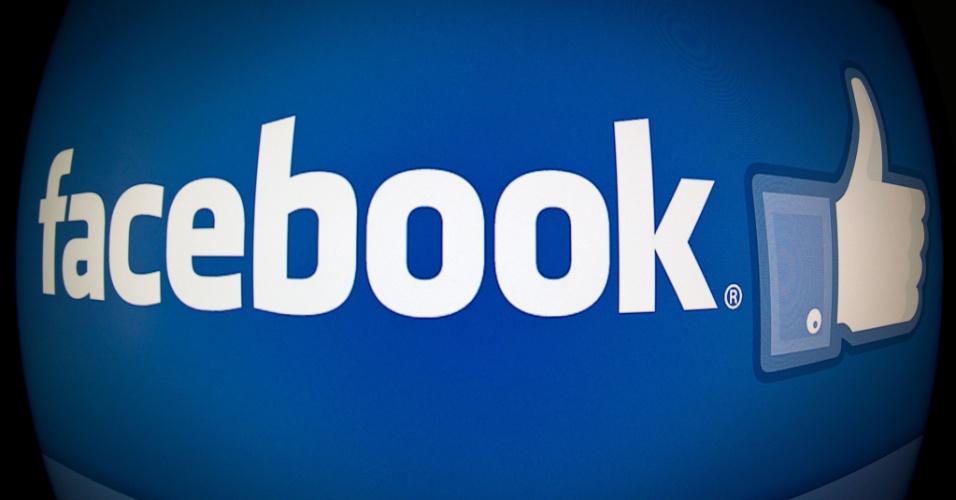 facebook logo logotipo chamada rede social