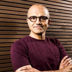 Satya Nadella, CEO da Microsoft - Divulgação