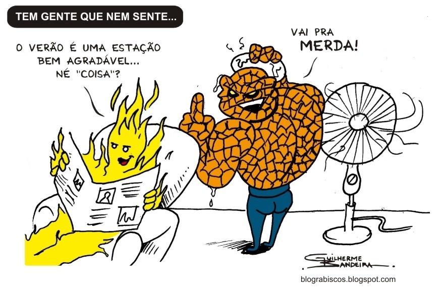 6.fev.2014 - charge de calor