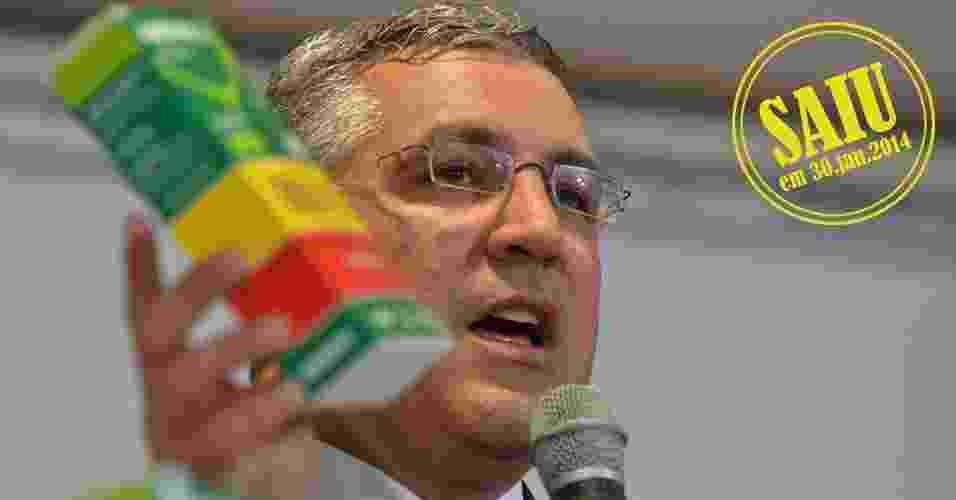 Alexandre Padilha, pré-candidato do PT ao governo de São Paulo, deixa o ministério da Saúde - Elza Fiúza/Agência Brasil