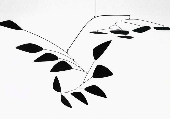 Arco de Pétalas, escultura de Alexander Calder