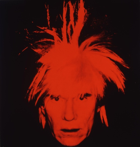 Auto-Retrato, Andy Warhol-1986