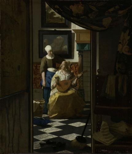 Carta de Amor, Johannes Vermeer