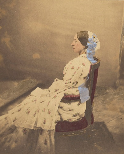 Foto da Rainha Vitória (1854), the J. Paul Getty Museum