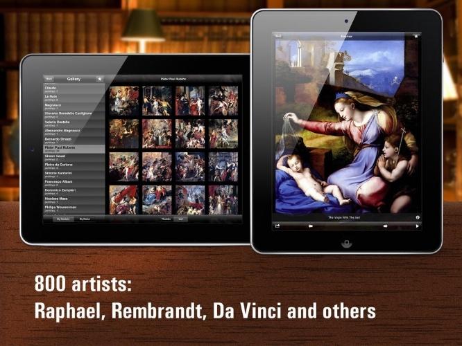 Imagem do aplicativo Louvre HD