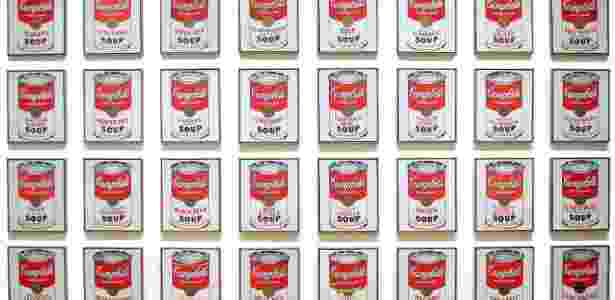 Latas de Sopas Campbell, Andy Warhol, 1962 The Museum of Modern Art (MoMA) - MoMA