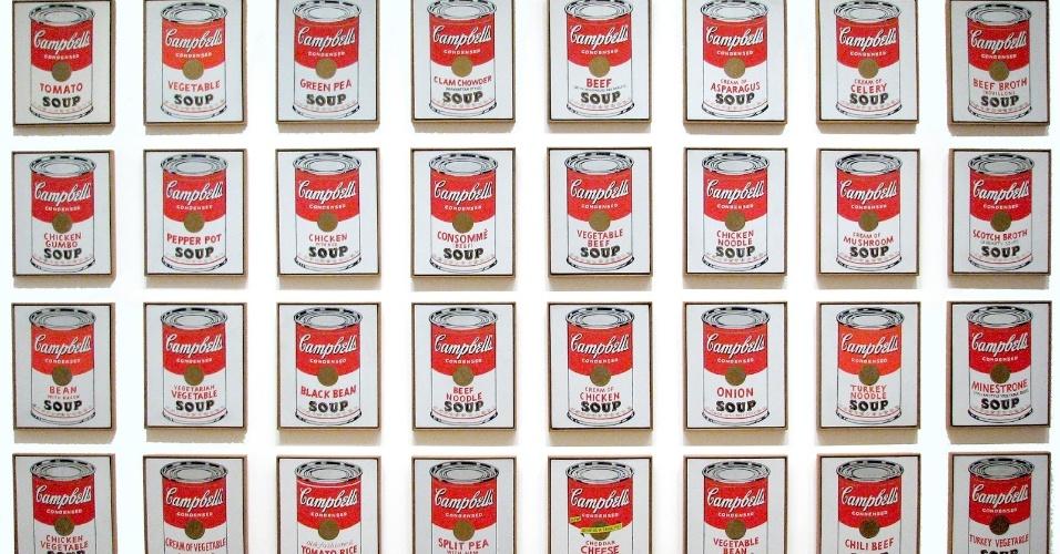 Latas de Sopas Campbell, Andy Warhol, 1962 The Museum of Modern Art (MoMA)