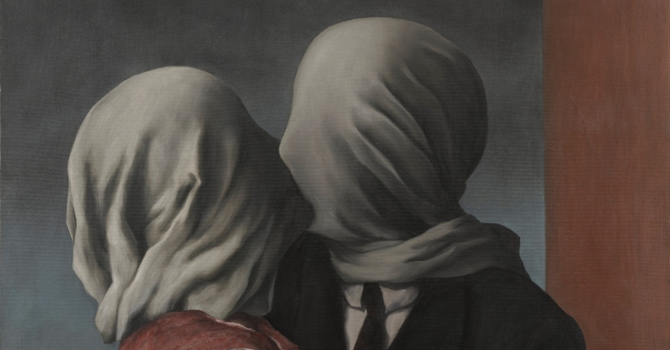 Os Amantes, René Magritte. 1928.The Museum of Modern Art (MoMA)