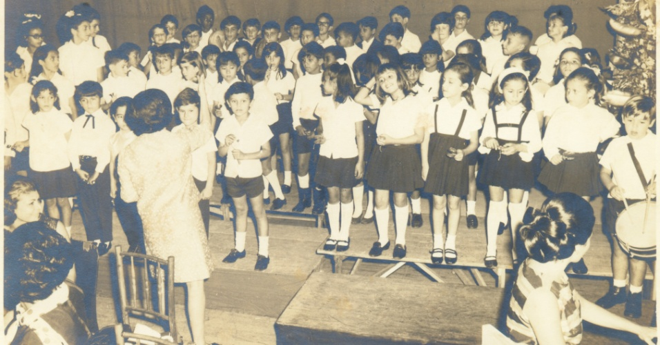 Classe piloto da Esc Agrup de Vila Olímpia 1968 Banda da Esc