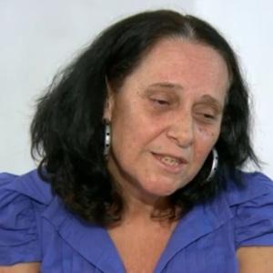 Destruíram uma família, disse a mulher do cinegrafista - Reprodução/TV Globo