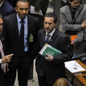 O deputado federal Natan Donandon (sem partido-RO) na sessão da Câmara que cassou seu mandato - Luis Macedo / Câmara dos Deputados