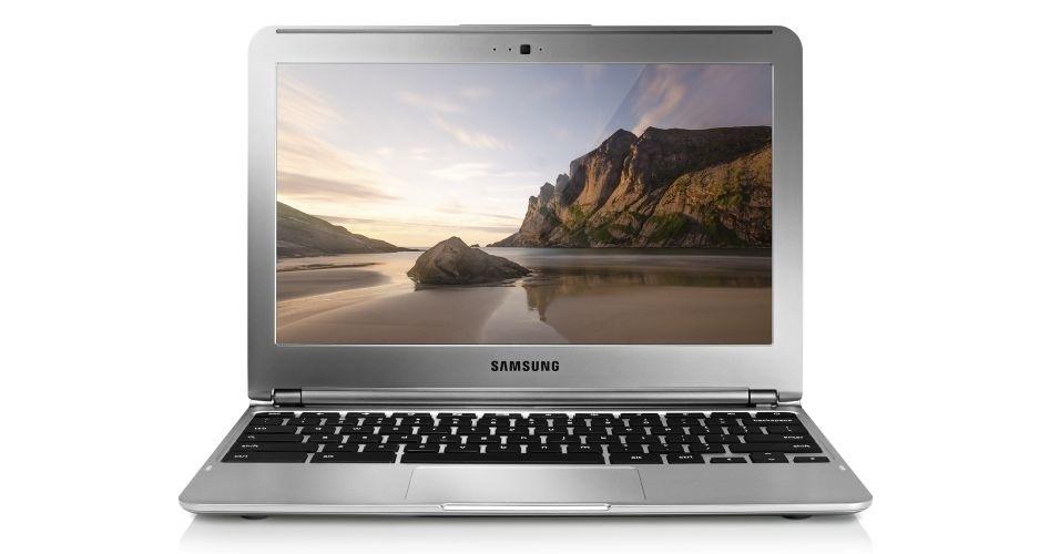 O Samsung anunciou que o Chromebook da marca será fabricado no Brasil. Com 16 GB de armazenamento interno, Wi-Fi, processador dual-core e sistema Chrome OS, ele tem preço sugerido de R$ 1.099