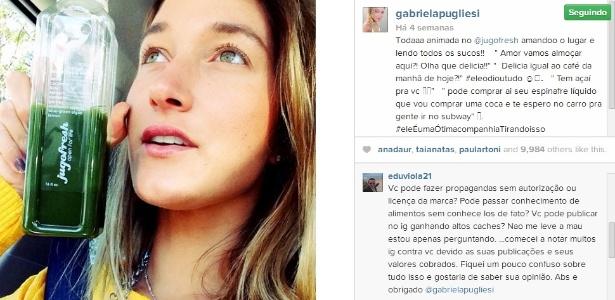 Reprodução/Instagram/@GabrielaPugliesi