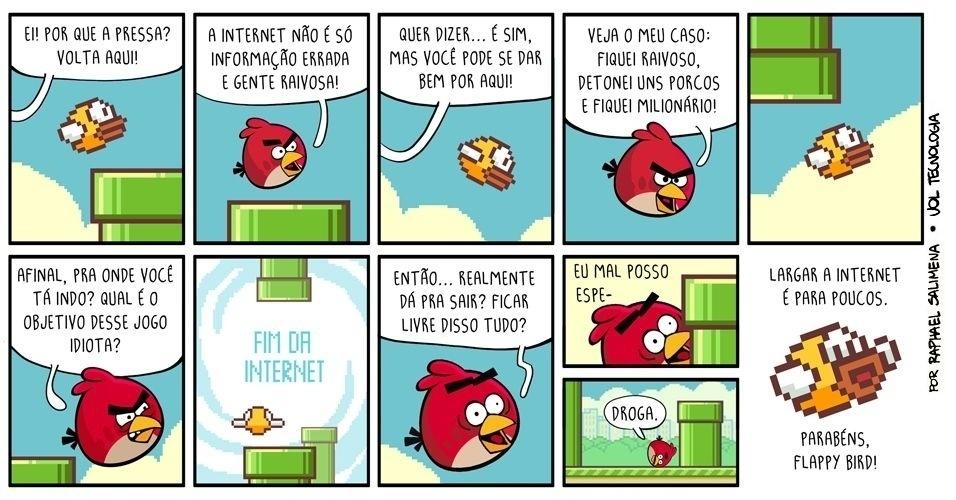 """14.fev.2014 - """"Os pássaros"""""""