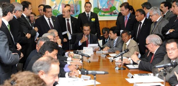 Reunião dos líderes dos partidos na Câmara nesta terça (18) decidiu sobre a presidência das comissões - Laycer Tomaz/Câmara dos Deputados